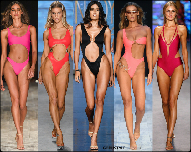 cut out, swimsuit, spring, 2020, swimwear, trend, look, style, details, miami swim week, moda, baño, bikini, bañador, tendencias, verano 2020, swim trends