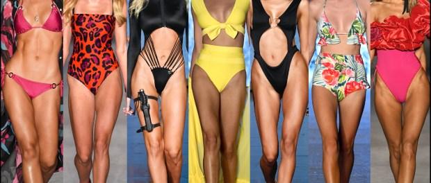 swimwear, spring, 2020, trend, look, style, details, miami swim week, moda, baño, bikini, bañador, tendencias, verano 2020, cut out, ruffles, animal print, one schoulder, ring details, swim trends