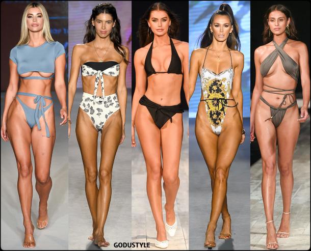 ties galore, swimsuit, spring, 2020, swimwear, trend, look, style, details, miami swim week, moda, baño, bikini, bañador, tendencias, verano 2020, swim trends
