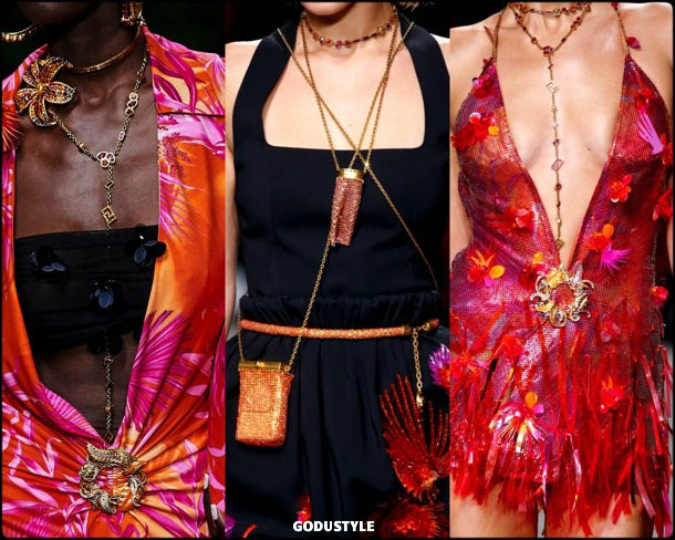 versace, jewelry, spring 2020, mfw, look, style, details, beauty, joyas, verano 2020, trends, tendencia, review, moda, accessories