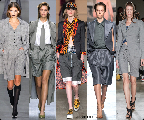 fashion, bermuda, suit, spring 2020, trends, look, style, details, moda, outfit, tendencias, verano 2020, design, diseño, runway, accessories