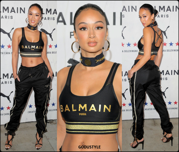 draya-michele-balmain-puma-collection-cara-delevingne-shopping-look-style-details-godustyle