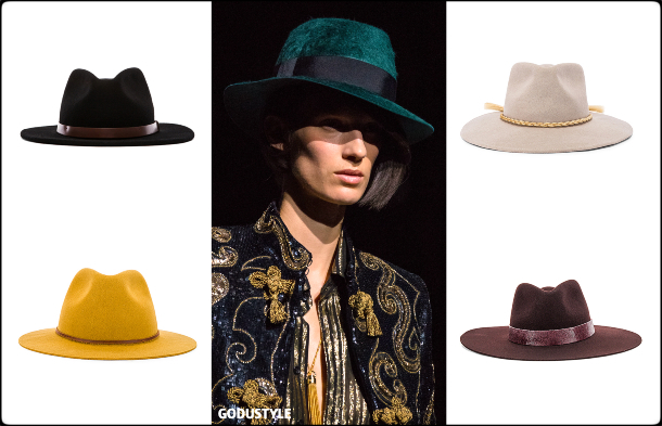 fedora hats, hats, fall 2019, accessories, trends, shopping, look, style, details, accesorios, moda, invierno 2020, tendencias, sombreros