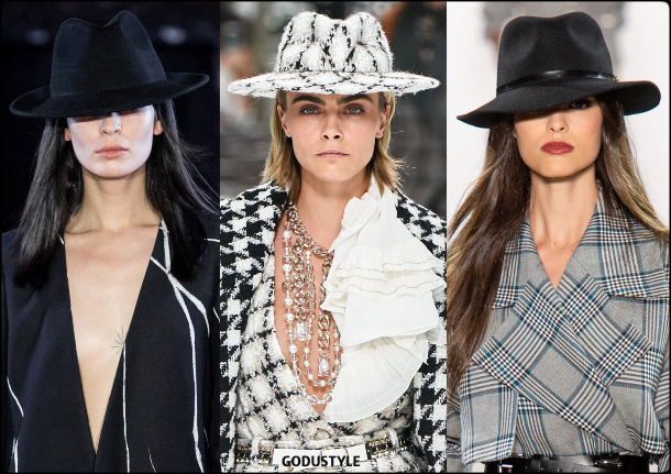 fedora hats, hats, fall 2019, accessories, trends, shopping, look, style, details, accesorios, moda, invierno 2020, tendencias, sombreros