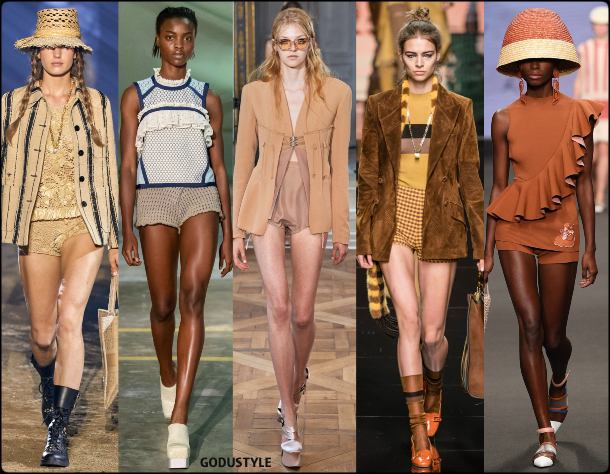 fashion, hot pants, spring 2020, trends, look, style, details, moda, shorts, outfit, tendencias, verano 2020, design, diseño, runway, accessories