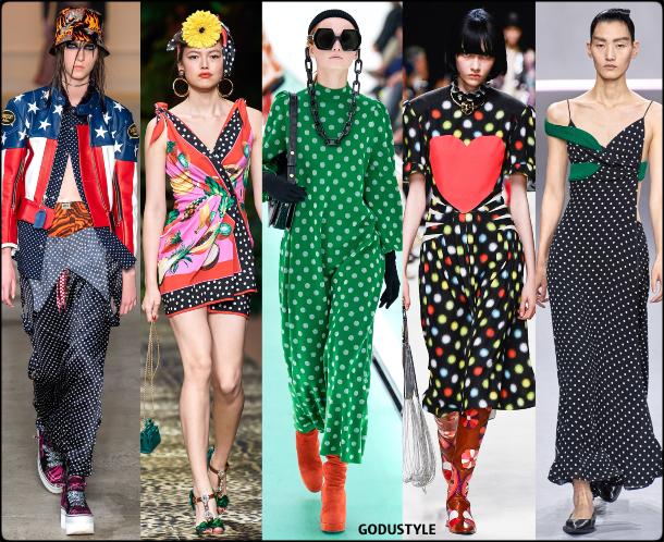 fashion, polka dots, spring 2020, trends, look, style, details, moda, lunares, outfit, tendencias, verano 2020, design, diseño, runway, accessories