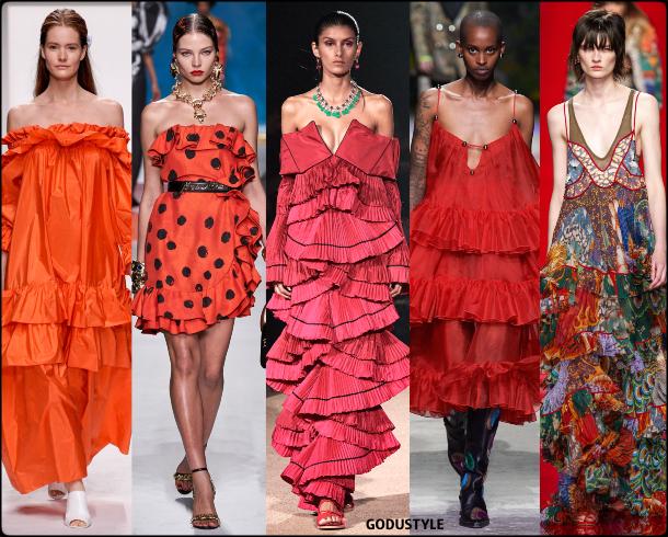 fashion, ruffles, spring 2020, trends, look, style, details, moda, volantes, outfit, tendencias, verano 2020, design, diseño, runway, accessories