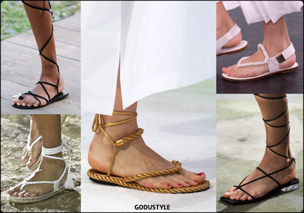 fashion, shoes, spring 2020, trends, look, style, details, moda, zapatos, outfit, tendencias, verano 2020, design, diseño, runway, sandalias, sandals