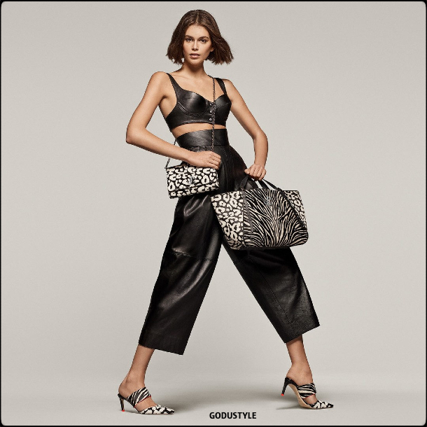 jimmy choo, kaia gerber, shoes, bags, capsule, collection, spring, summer, 2020, look, style, details, shopping, moda, zapatos, bolsos, primavera, verano, colección cápsula