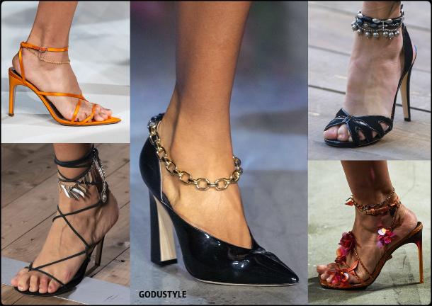 shoes, chains, anklets, spring, summer, 2020, fashion, trends, look, style, details, moda, zapatos, tendencias, primavera, verano, cadenas, tobilleras