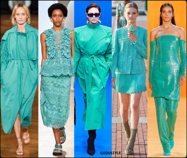 biscay green, verde, turquesa, fashion, color, spring, summer, 2020, color, trend, look, style, details, moda, verano, primavera, tendencia, pantone