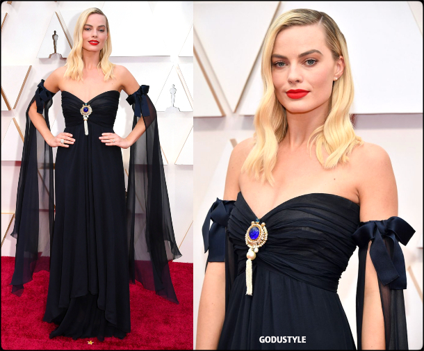 margot robbie, oscars, 2020, red carpet, 2020, look, style, beauty, details, jewelry, accessories, moda, alfombra roja, oscar, belleza, joyas