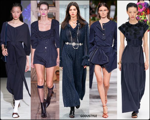 navy blazer, azul marino, fashion, color, spring, summer, 2020, color, trend, look, style, details, moda, verano, primavera, tendencia, pantone