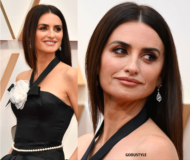 penelope cruz, oscars, 2020, red carpet, 2020, look, style, beauty, details, jewelry, accessories, moda, alfombra roja, oscar, belleza, joyas