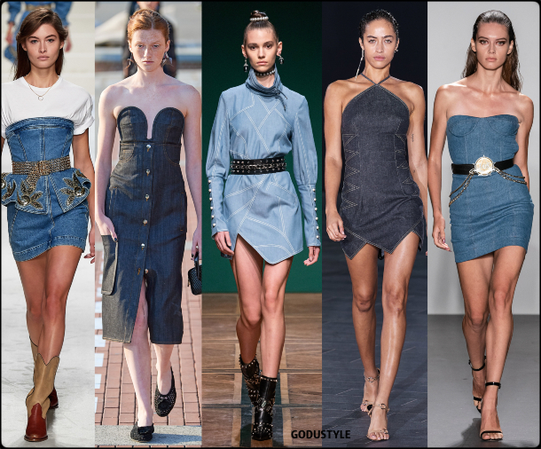 denim, deluxe, dress, spring, summer, 2020, fashion, trend, outfit, look, style, details, moda, vestido, jeans, tendencia, gris, verano, runway, design