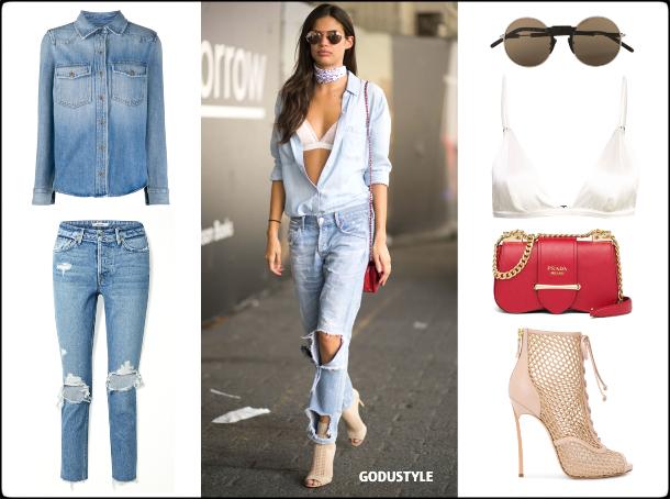 sara sampaio, fashion, bra top, bralette, spring, summer, 2020, trend, street style, look, shopping, outfit, denim, style, details, moda, sujetador, tendencia, verano