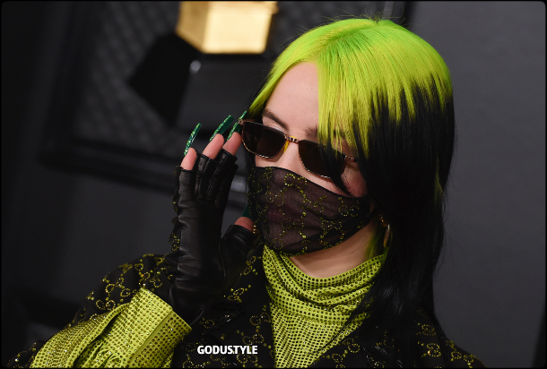 fashion, billie eilish, face mask, mascarilla, covid-19, coronavirus, máscara facial, accessories, trend, 2020, 2021, look, style, details, shopping, moda, accesorios, street style
