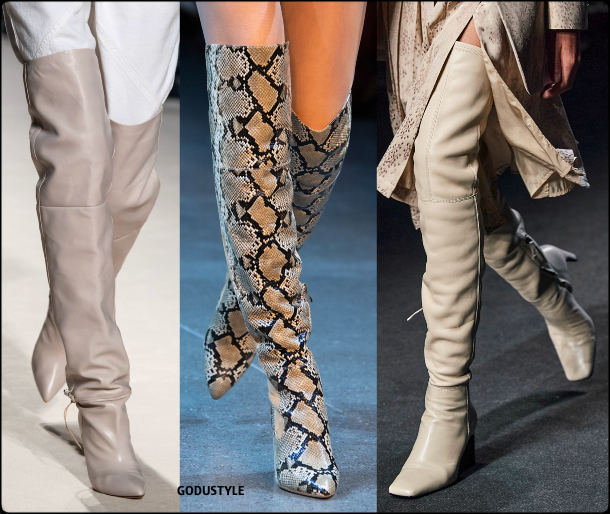 shoes, thigh high boots, fall, winter, 2020, 2021, fashion, trends, look, style, details, fashion weeks, designer, zapatos, moda, tendencia, botas muslo
