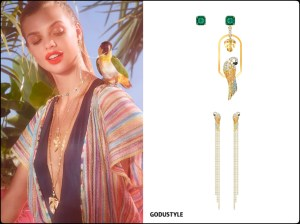 swarovski, tropical, crush, summer, 2020, fashion, jewelry, accessories, collection, look, style, details, shopping, earrings, pendientes, moda, joyas, verano