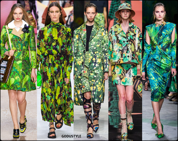 fashion, tropical, jungle, flower, print, spring, summer, 2020, trend, look, runway, style, details, shopping, vestidos, moda, tendencia, verano
