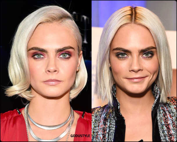 cara delevingne, curly bob, straight bob, fashion, bob, hairstyle, fall, 2020, winter, 2021, hair, trend, beauty, look, style, details, moda, tendencia, peinado, corte pelo
