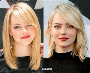 emma stone, wavy bob, straight bob, fashion, bob, hairstyle, fall, 2020, winter, 2021, hair, trend, beauty, look, style, details, moda, tendencia, peinado, corte pelo