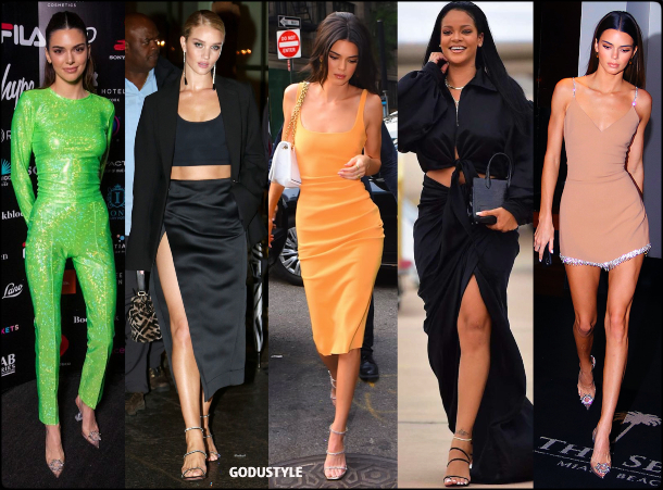 amina muaddi, kendall jenner, rihanna, fashion, shoes, sandals, pumps, slingback, designer, street style, summer 2020, collection, look, style, details, celebrities, outfit, influencers, shopping, moda, zapatos, verano 2020