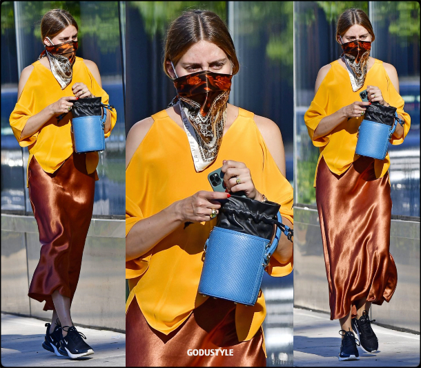 olivia-palermo-fashion-scarf-face-mask-trend-street-style-look-details-july-2020-moda-godustyle