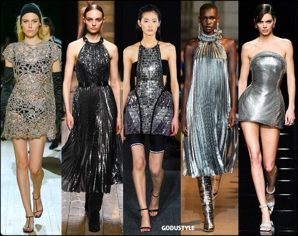 fashion, silver dress, dress, fall, winter, 2020, 2021, trend, look, style, details, moda, tendencias, otoño, invierno, vestido, plateado