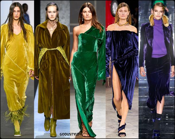 fashion, color, velvet, dress, fall, winter, 2020, 2021, trend, look, style, details, moda, tendencias, otoño, invierno, vestido, terciopelo
