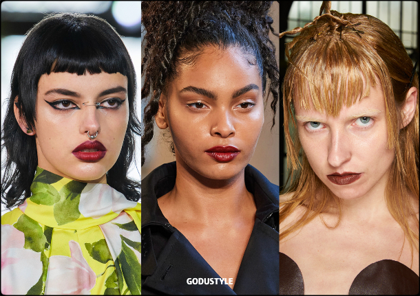 burgundy-lips-makeup-spring-summer-2021-trends-fashion-beauty-look-style-details-moda-maquillaje-tendencia-belleza-godustyle