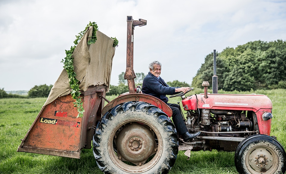 Luis Holden's great image of Nick Will the tractor driver