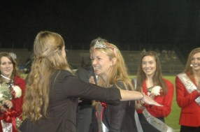 Senior Emily Dabbs wins 2013 Homecoming Queen