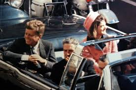 President Kennedy and wife Jackie Kennedy moments before the assassination.