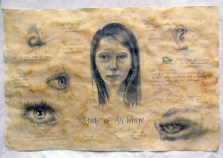 Ali White's self portrait