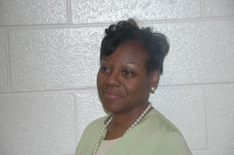 Assistant principal Sandra Justice.
