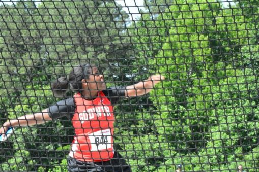 Girls' discus