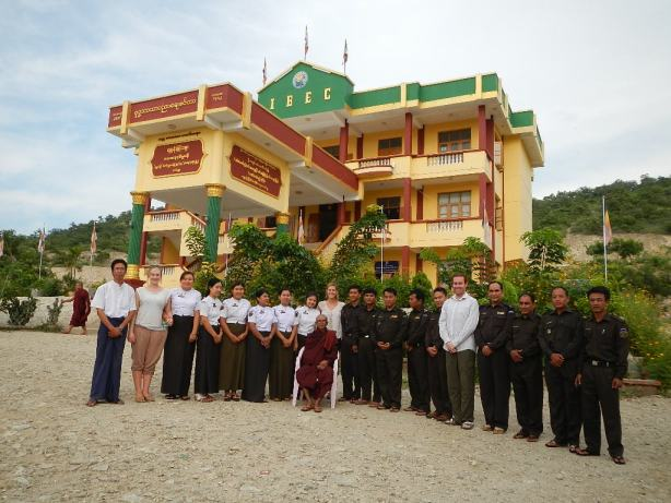 International Buddhist Education Center in Burma