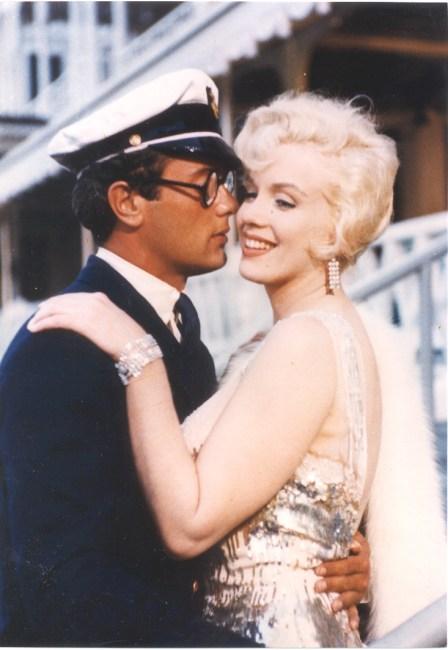 Marilyn Monroe & Tony Curtis