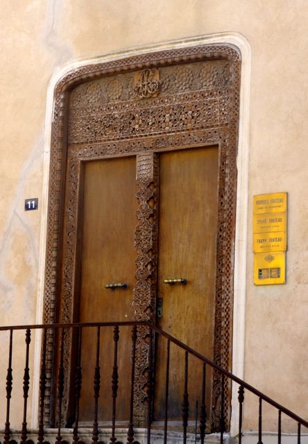 Arabic door in St Tropez