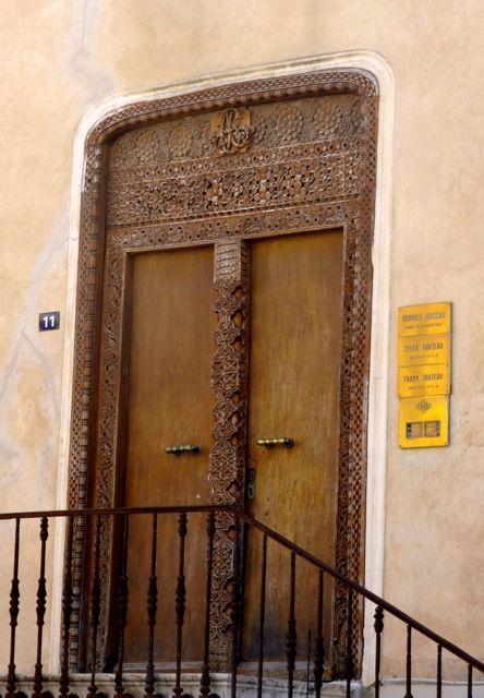 Arabic door in St Tropez
