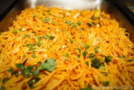 nepali food chau chau
