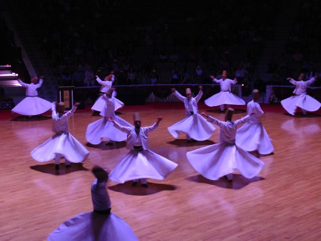 whirling dervishes