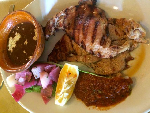 yucatan food pork chuc
