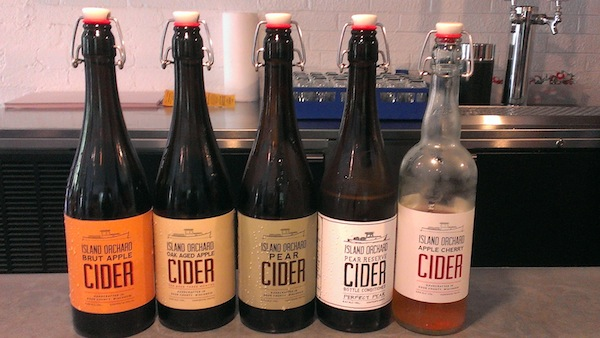 Island Orchard Ciders from Door County