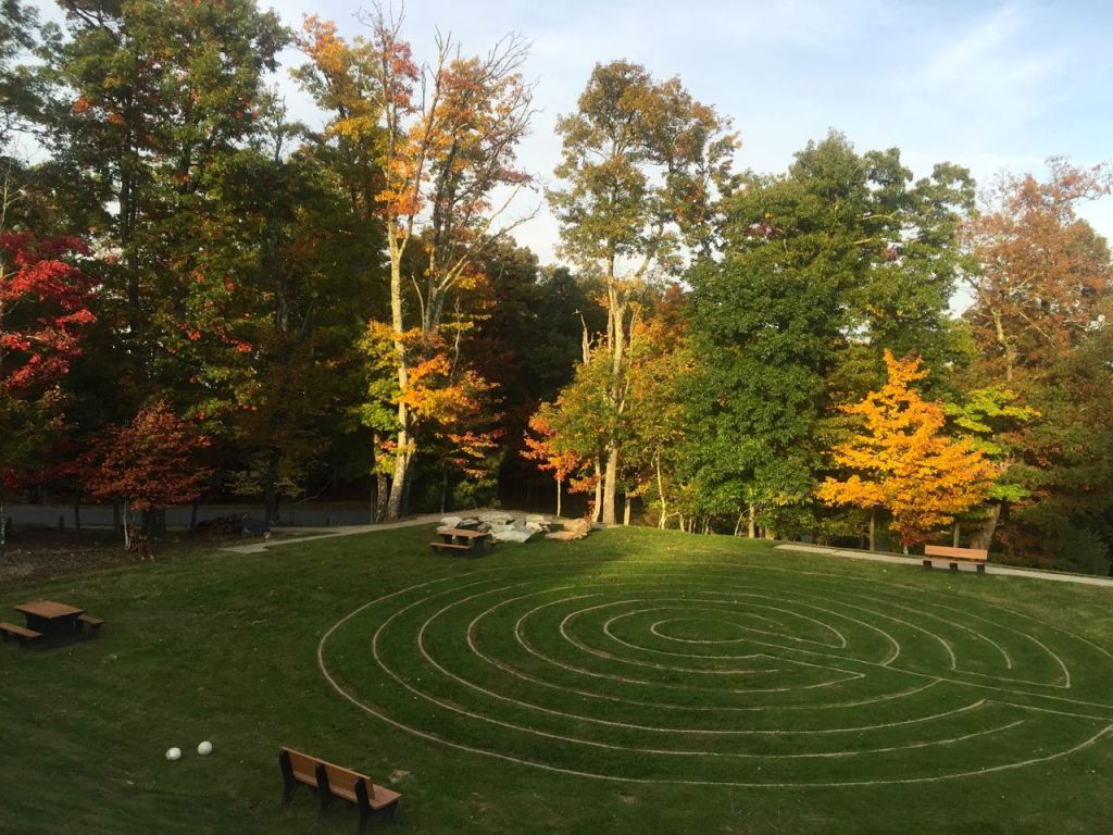 The Labyrinth at the Art of Living Retreat Center