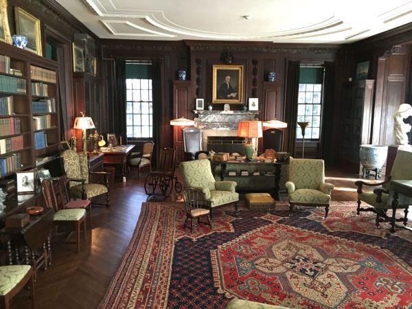 Vanderbilt Mansion Interior, Hudson Valley Region, NY