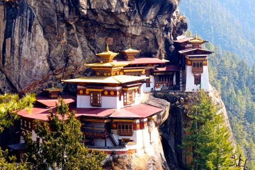bhutan tigers nest