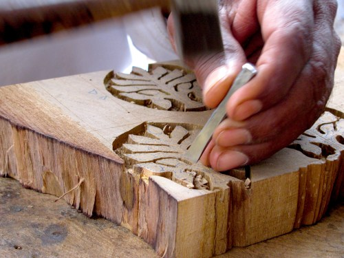 how-to-block-print-carving-wood-ichcha