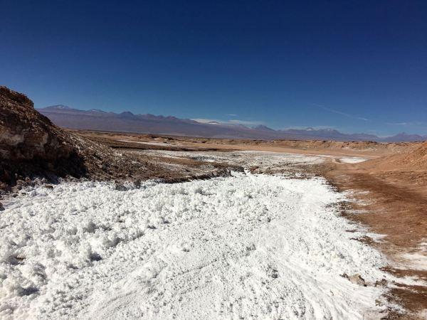Atacama salt fields